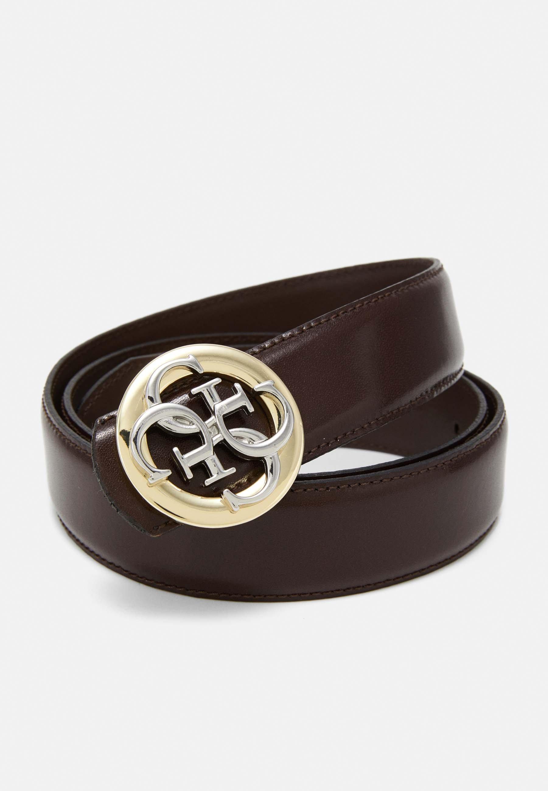 Guess ADJUSTABLE BELT - Belte - brown/brun kuXoLj4XJuFEWdp