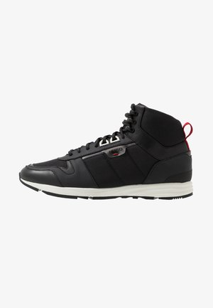 HYBRID - High-top trainers - black