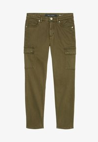 Marc O'Polo - LULEA SLIM MID WAIST  - Slim fit jeans - dark green - 5
