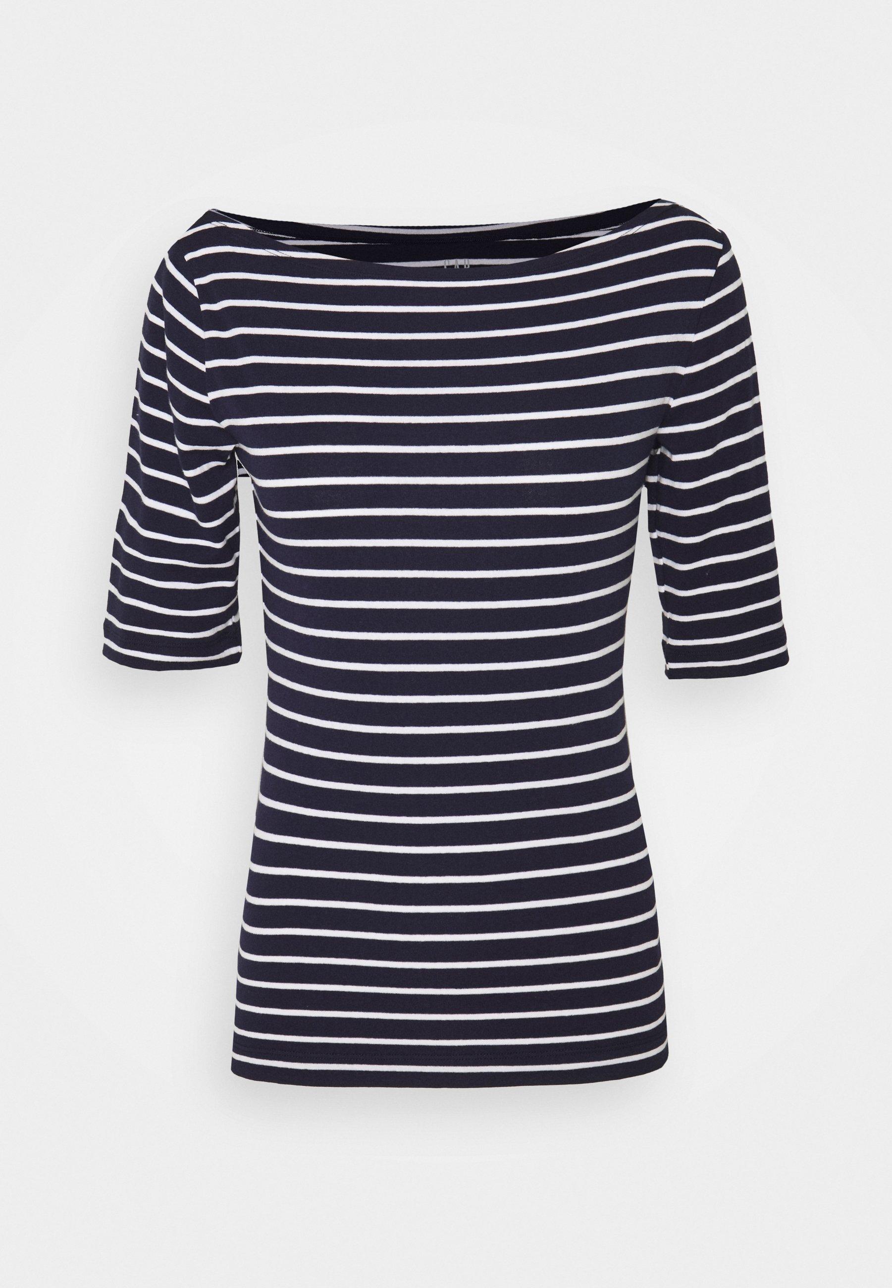 Women BOATNECK - Print T-shirt