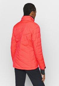 Killtec - SAVOGNIN QUILTED - Ski jacket - neon coral - 3