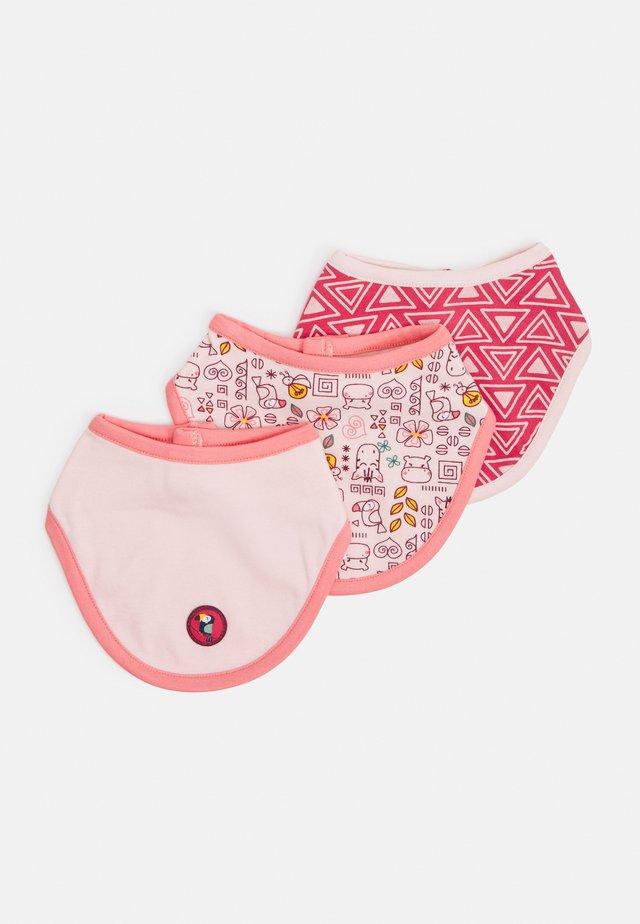 JUNGLE GIRL 3 PACK - Bavaglino - light pink