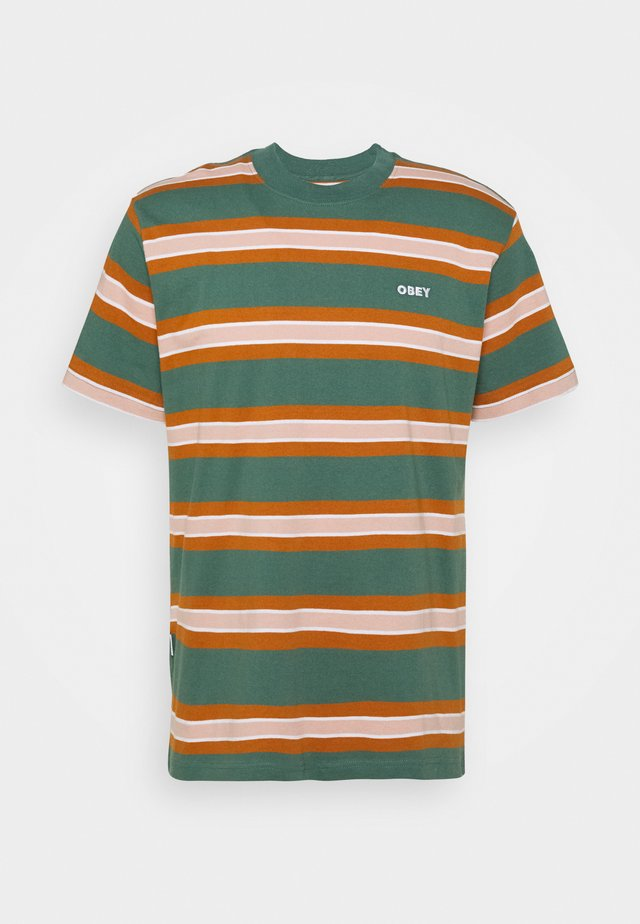 LOGAN TEE  - T-shirt print - green multi