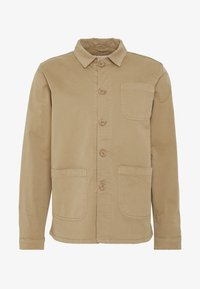 BY GARMENT MAKERS - THE ORGANIC WORKWEAR JACKET - Summer jacket - camel - 3
