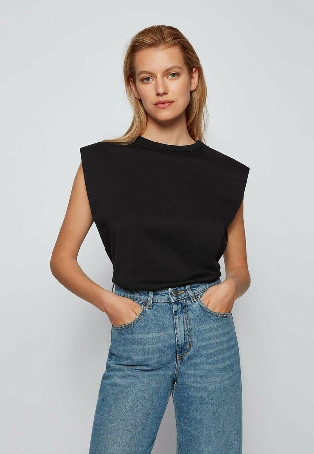 ELYS - T-shirt con stampa - black
