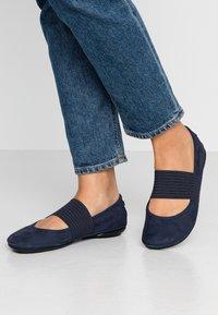 Camper - RIGHT NINA - Ankle strap ballet pumps - navy - 0