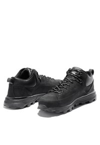 Timberland - TREELINE LOW - Casual lace-ups - blackout nubuck - 3