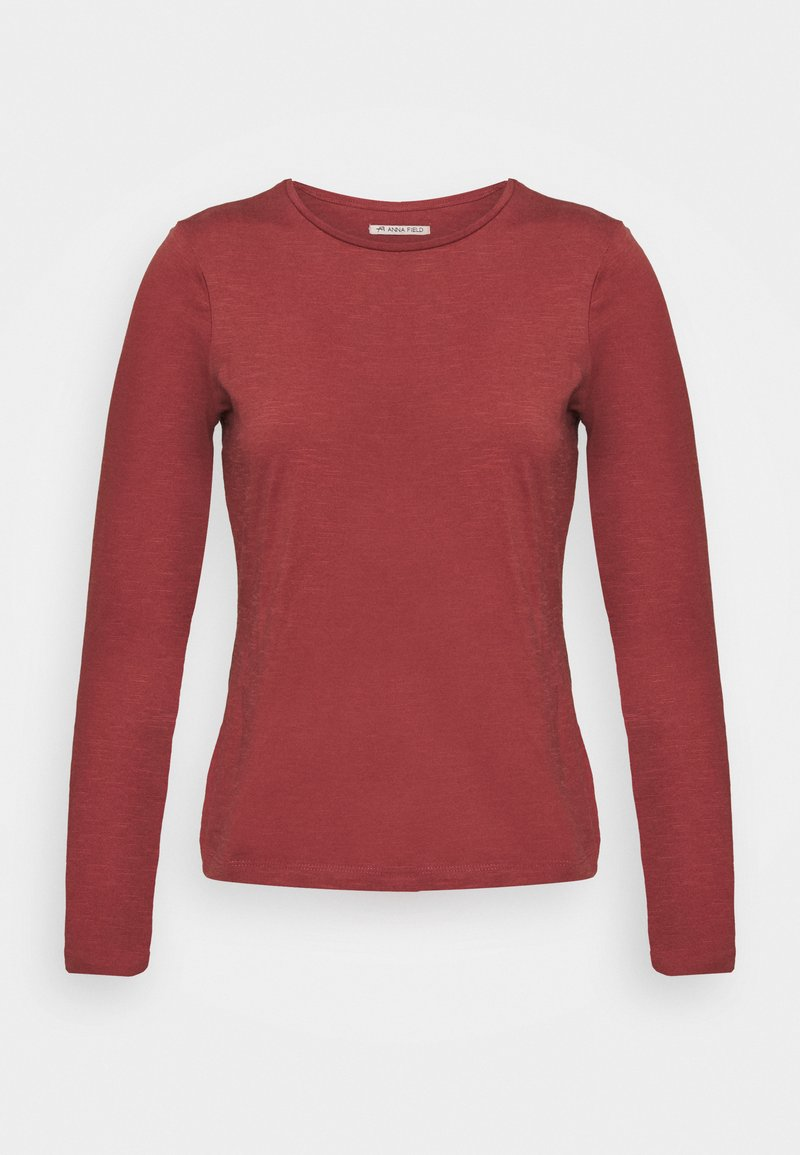 Anna Field - T-shirt à manches longues - red