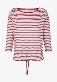 Alba Moda - Long sleeved top - rot weiß - 3