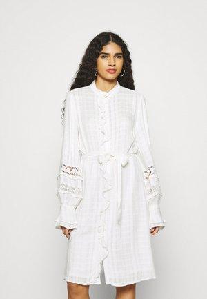 LEO DRESS - Shirt dress - cream white