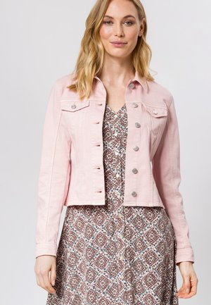 Denim jacket - peach sorbet