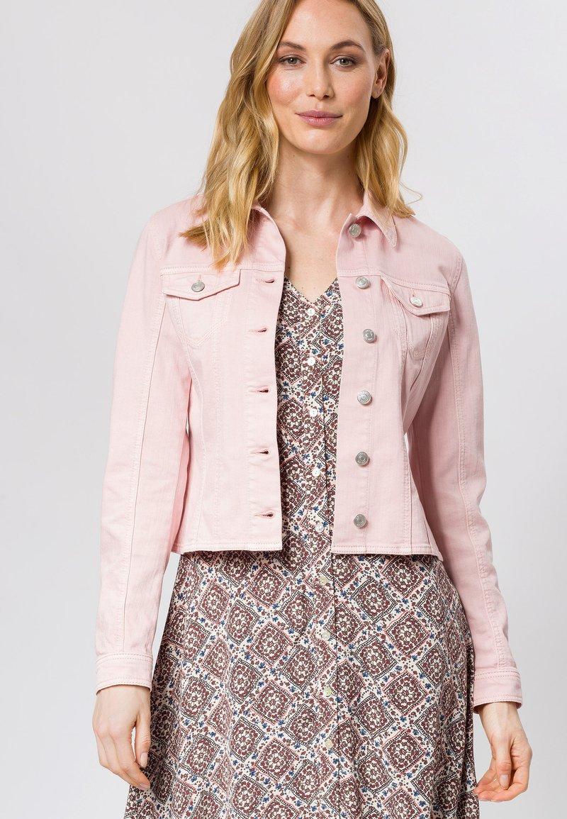 zero - Denim jacket - peach sorbet