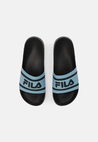 Fila - MORRO BAY - Mules - black/cameo blue - 3