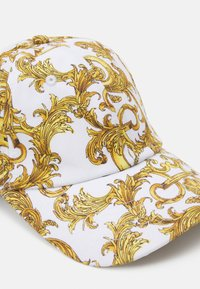 Versace Jeans Couture - UNISEX - Cap - white/gold - 5