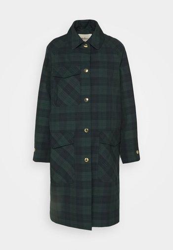 FREDA COAT WOVEN - Classic coat - dark green