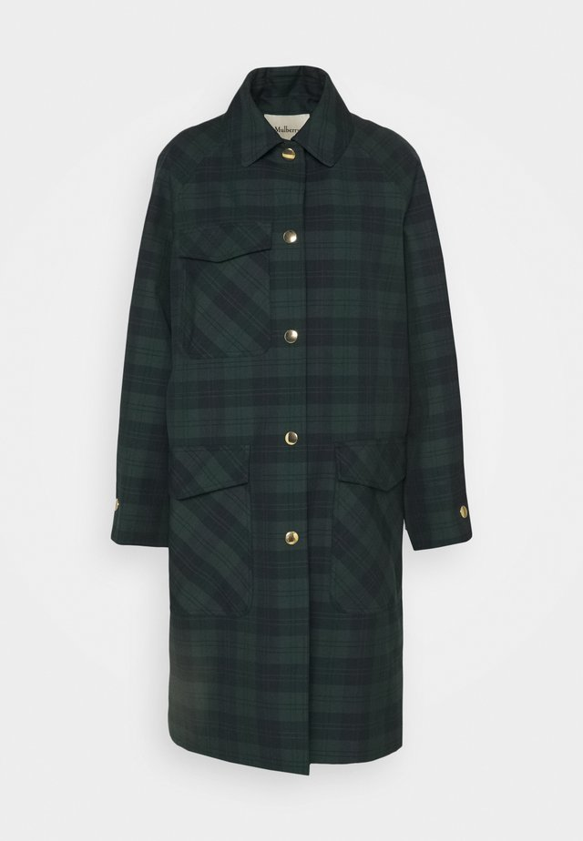 FREDA COAT WOVEN - Abrigo - dark green