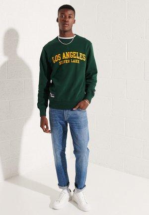 Sweatshirt - enamel green
