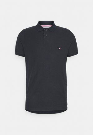 1985 CONTRAST PLACKET SLIM  - Polo - desert sky
