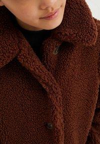 WE Fashion - TEDDY  - Winter coat - dark brown - 2