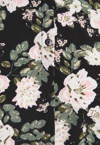 Vero Moda - VMSAGA COLLAR SHIRT DRESS  - Paitamekko - black/fannie - 2