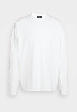 LONGSLEEVE UNISEX - Pitkähihainen paita - off-white