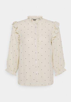 VMMARLEY - Button-down blouse - birch/black