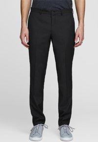 Jack & Jones PREMIUM - JPRSOLARIS  - Pantalon de costume - black - 0