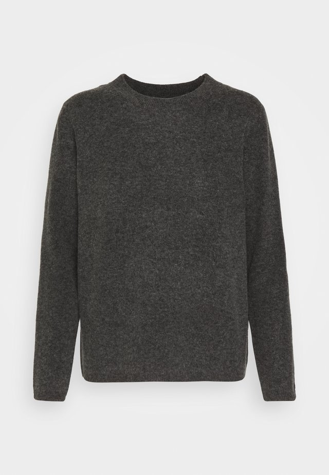 STACEY - Pullover - dark grey melange