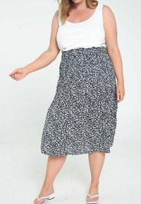 Paprika - A-line skirt - marine - 0