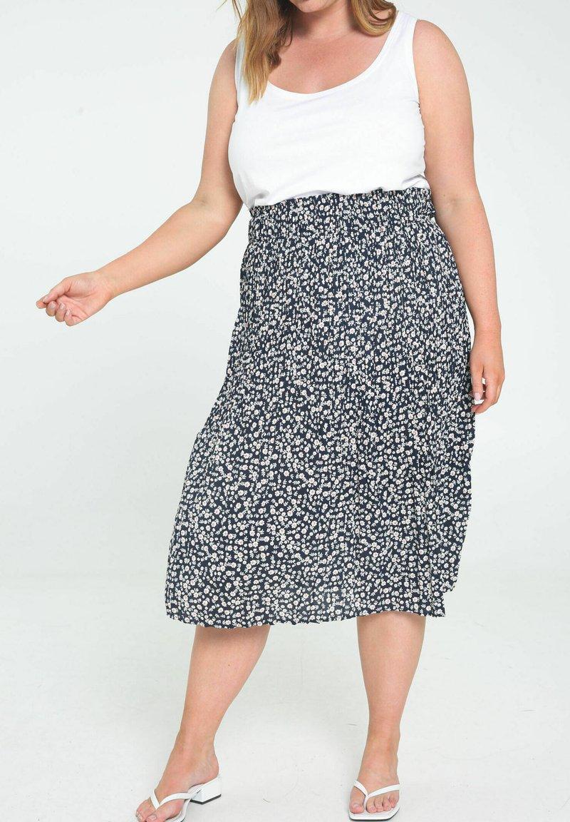 Paprika - A-line skirt - marine