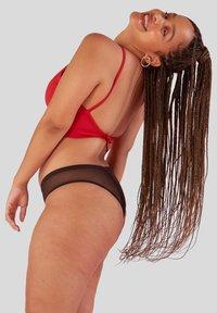Pantys - Menstruationsunterwäsche Bikini - Slip - black - 1