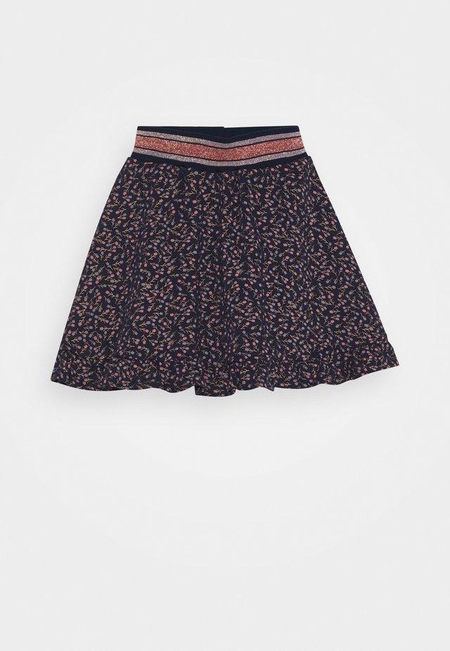RANDI SKIRT - Áčková sukně - navy blazer