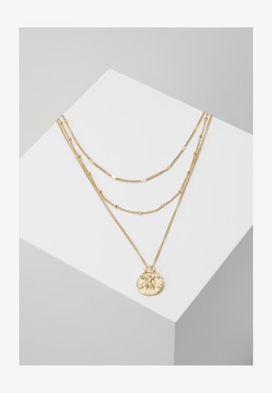 ONLPUSSLE NECKLACE - Necklace - gold-coloured