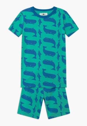 WHALE SLEEP - Pyžamová sada - blue/green
