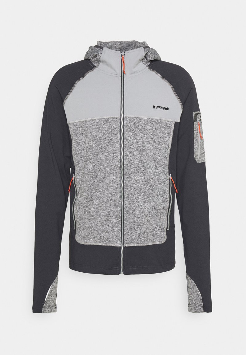 Icepeak - BERKSHIRE - Fleece jacket - anthracite