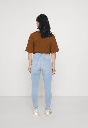 HIGH WAIST - Jeans Skinny Fit - light blue