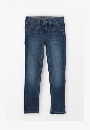 HOSE - Jeans Skinny Fit - blue denim
