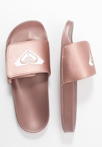 Roxy - SLIPPY SLIDE  - Sandalias planas - rose gold - 3
