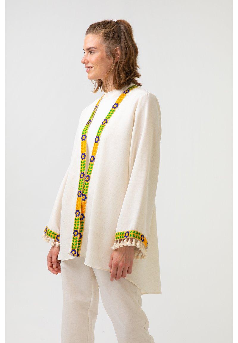 Touché Privé - ETHNIC  - Summer jacket - beige