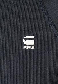 G-Star - PLATED RIB HALF ZIP JIRGI R T L\S - Trui - mazarine blue/lead - 2