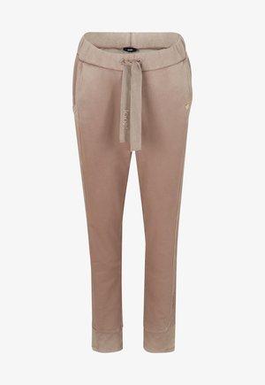 Trousers - dunkelbeige