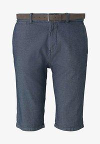 TOM TAILOR - Shorts - blue indigo structure - 6