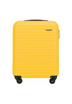 GROOVE LINE - Wheeled suitcase - gelb