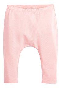 Next - PINK/GREY 2 PACK BOW LEGGINGS (0MTHS-3YRS) - Leggings - Trousers - pink - 3