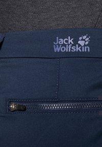 Jack Wolfskin - BELDEN PANTS - Ulkohousut - midnight blue - 6
