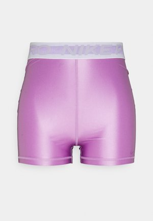 Leggings - violet shock/white