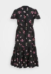 Simply Be - TIERED SLEEVE DRESS - Maxi dress - black - 1