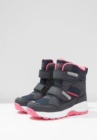 Friboo - Snowboots  - dark blue/pink - 3