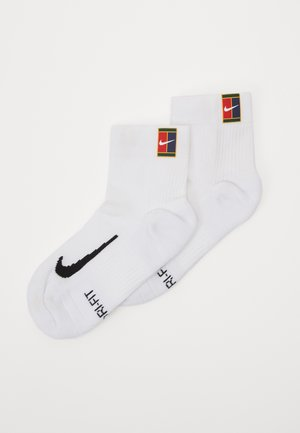COURT MULTIPLIER MAX 2 PACK - Chaussettes de sport - white