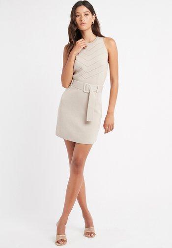 JUPE SANDY - Mini skirt - az mastic